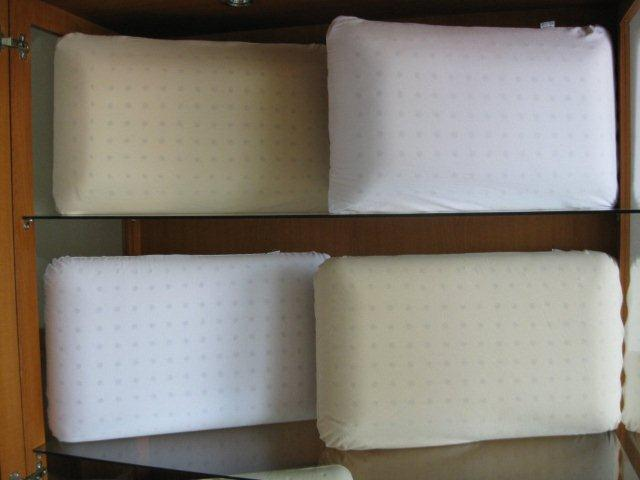 Multipin pillow with cover